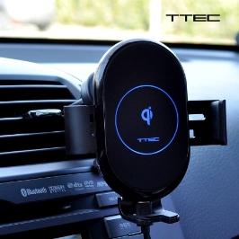 티텍 TQS5, TQM5 차량용 무선 고속 자동 충전 거치대 스마트폰 핸드폰 휴대폰 충전거치대
