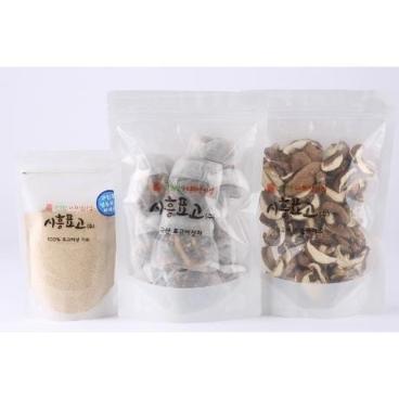 [시흥표고] 국산표고버섯 선물세트 / 국산 표고버섯 슬라이스 / 표고버섯 차 / 표고버섯 가루 / 천연조미료