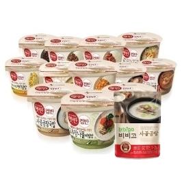 [묶음배송] 굶지말자! CJ 햅쌀로 지은 맛있는 밥 햇반/비비고