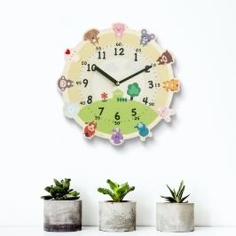 [60초쇼핑] 아이들도 읽기 쉬운 교육용 시계 인테리어 무소음 벽시계 어린이시계