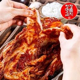 청정명품 전통 남도식 포기김치 10kg