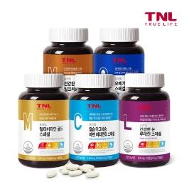 [게릴라특가] TNL 4종 뼈 건강 칼슘 마그네슘 아연 비타민D 3개월분 外 루테인 유산균 비타민 오메가3