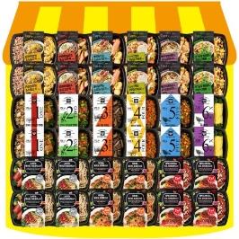 더바른 도시락 12종 ♥10팩+10팩 총 20팩♥ 패키지로 가격을 확! 내리다! 가벼운 내일을 위한 식단관리 냉동 도시락 세트