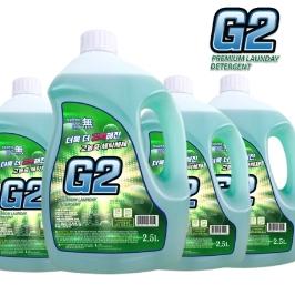 G2 고농축 액체세제 2.5LX4개 ~ 13L / 대용량 프리미엄 세탁세제 / 서울어워드 우수상품 선정