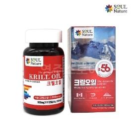 [게릴라특가] 60캡슐 2개월분 크릴오일 인지질 56% - 캐나다 SOUL Nature 효도아이템!
