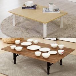 서우 밥상 다용도상 접이식 테이블 공부상 원형상 대형상 식탁