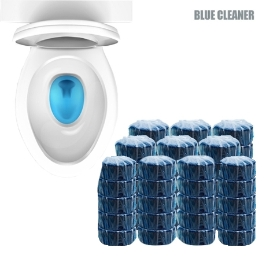 슈퍼 울트라 변기세정제 블루크리너 40g 20+20 총 40개 / 변기 청소 이제 NO 이거 하나면 끝!