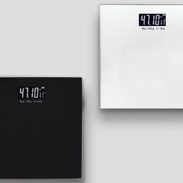 [더싸다특가] 모던한 LCD 밸런스 디지털 체중계 (블랙/실버) 건강하고 아름답게 관리하세요~