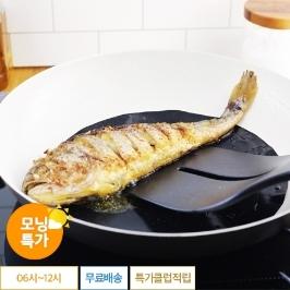 [모닝특가] 생선을 구워도 눌러붙지 않고 타지않아요! 프라이팬 매트 2매입 / 주방용품 39균일가!