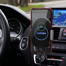 [온라인완판/고객만족] 카베아 3세대 차량용 핸드폰 거치대_고속/급속/충전기/핸드폰/휴대폰/스마트폰 ST-CD600 블랙