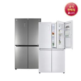 [디지털위크] LG 디오스 870L 양문형 냉장고 모음 상냉장 하냉동 공식판매점
