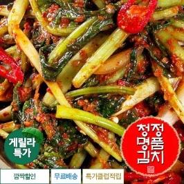 [게릴라특가] 역대급특가 청정 명품 열무김치 2kg