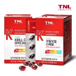 TNL 남극 100% 크릴오일 1+1 2개월분 外 칼슘, 루테인, 밀크씨슬, 비타민, 지아잔틴, 쏘팔메토