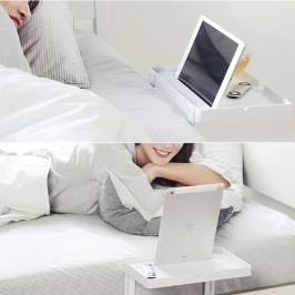 큐소닉 폰 베드 테이블 / 침대 사이드 테이블 2size / 침대 옆 소확행