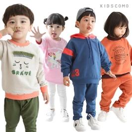 [투데이특가] 단하루 7900원! 라스트세일! 키즈꼬모 기모세트 아동 상하복/아동복/등원복