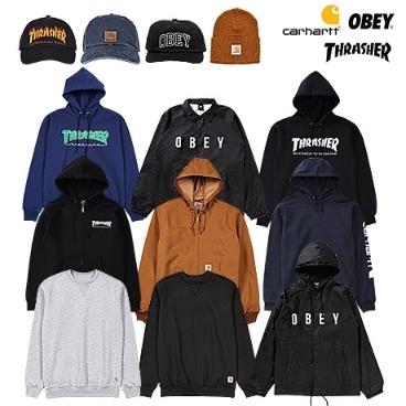 [슈즈코치] 칼하트/오베이/트레셔 정품! 브랜드의류/모자/가방 특가 모음
