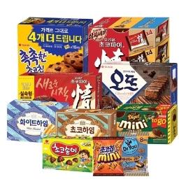 [묶음배송] 초코 덕후 모여라! 초코맛 식품 모음