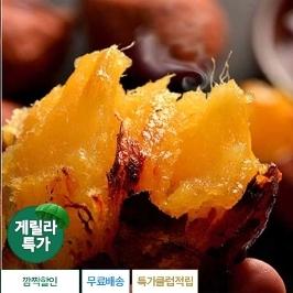[게릴라특가] 달콤한 해남 꿀고구마 3kg 무료배송 특가행사
