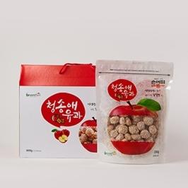 [건가장] 손예담 사과/감귤 유과 200g