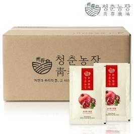 [더싸다특가] 청춘농장 석류즙 실속포장 60포 외 도라지배즙 양배추즙 사과즙 비트즙 호박즙 양파즙 석류농축액 레드비트농축액