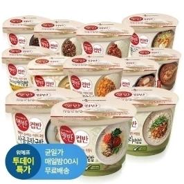 [투데이특가] CJ 햇반 컵반 강된장보리비빔밥 x 5개 외 17종