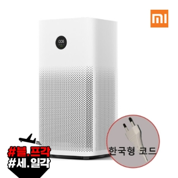 샤오미 미에어2s 공기청정기 한국형코드