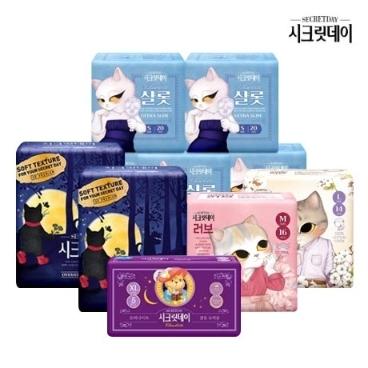 [AK몰] 시크릿데이 생리대/팬티라이너