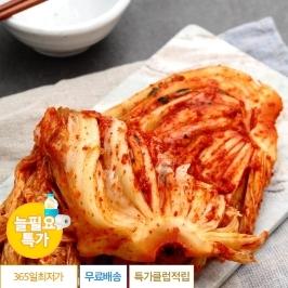 [늘필요특가] 국내산 생 포기김치 10kg