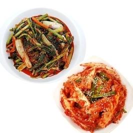 [게릴라특가] 담을김치 열무김치1kg + 겉절이1kg