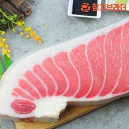 [더싸다특가] 파격특가 냉동참치회 참다랑어 1번도로 뱃살set 1kg
