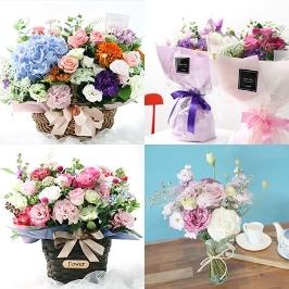 [늘필요특가] [전국 꽃배달!!주문폭주!!] [줄리엣로즈플라워] 로맨틱 꽃 선물♥