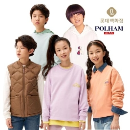 폴햄키즈 백화점 매장 신상&베스트 맨투맨/셔츠/팬츠/원피스 外 총 집합