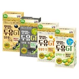 [원더배송] 남양 맛있는두유 GT 4가지맛 16팩 모음전
