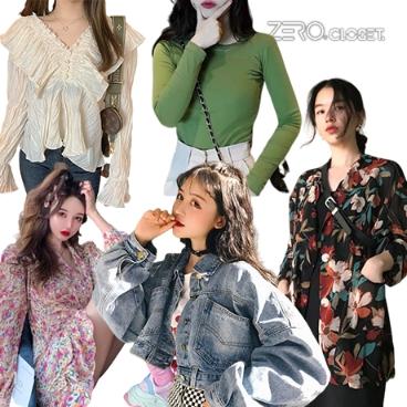제로의옷장_봄 신상 러블리&데일리룩 블라우스,원피스,스커트,아우터