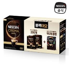 네스카페 크레마 인텐소 200T + 다크 아메리카노 90T 커피 초특가SALE
