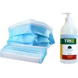 TRIZ 트리즈 피톤치드 손소독제 500ml 겔타입 / TRIZ HAND SANITIZER