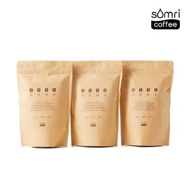[WE마트] 20% 쿠폰! 솜리커피공장 온두라스 원두 200g / 무료배송