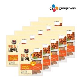 CJ 한입쏙비엔나 90g 10개 외 CJ 냉장햄 베이컨 후랑크 비비고김치 모음