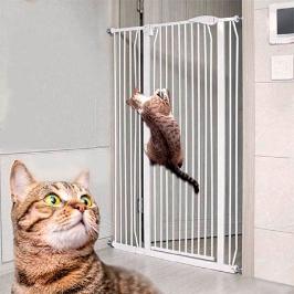 댕냥친구 1.5m 반자동 고양이 방묘문 안전문