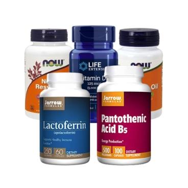면역력증진 / 슈퍼면역 / 항산화 키우는 영양제모음(레스베라트롤/오레가노/베타시토스테롤/베타글루칸/락토페린)
