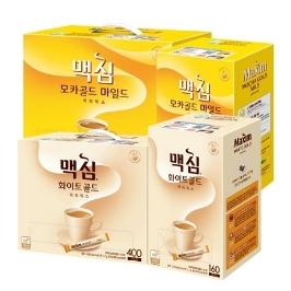 [더싸다특가] 맥심 커피믹스 모카골드/화이트골드 320T/400T