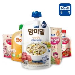 매일유업 맘마밀 요미요미 +쿠폰할인 이유식/유아식/아기간식/아기치즈