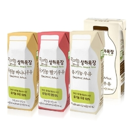 [원더배송] 매일유업 상하목장 유기농 멸균우유 24팩 모음전