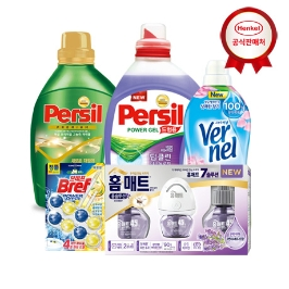 [원더배송] [헨켈최대1만원할인] 퍼실 세탁 세제, 섬유유연제,프릴 주방세제