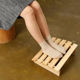 [더싸다특가] 좁은 신발 안에 갇힌 발을 해방시켜주세요!! 통풍이 자유로운 삼나무 발받침대 모음전