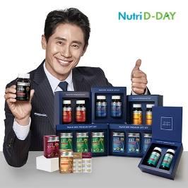 [2020설] 뉴트리디데이 칼슘 마그네슘 아연 비타민D 1+1 선물세트/루테인,오메가3,비타민 선물세트