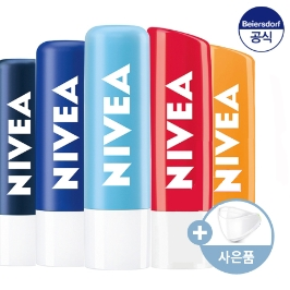 니베아 립케어X 4개 + 마스크증정 / 본사공식, 립밤, 팝볼, 보습, ,니베아립, 입술보호제