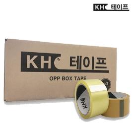 KH박스테이프 투명/황색 40M x 10개