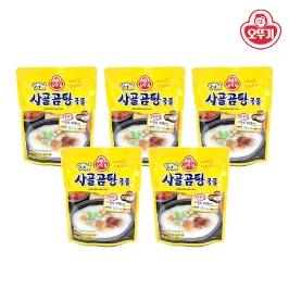 [투데이특가] 오뚜기 옛날 사골곰탕 350g 5팩