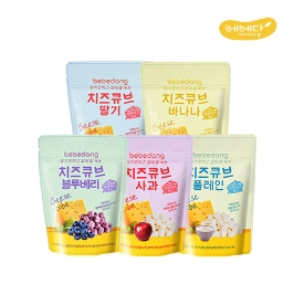 [2020설] 베베당 유기농 쌀과자 6봉 + 미니현미스틱(15g)